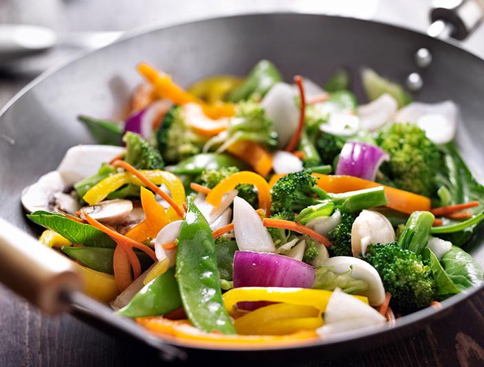 vegane Gemüsepfanne