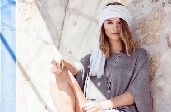 Fransen-Poncho, Boho Look, Nina Radman, berriesandpassion, berries and passion, Ernsting's family, Hippie Look, Outfit