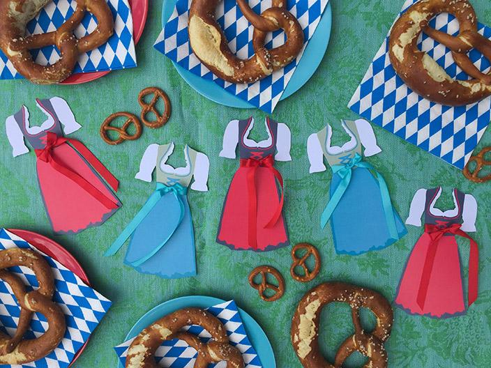 Oktoberfest Dirndl, Oktoberfest Party, Tischdeko