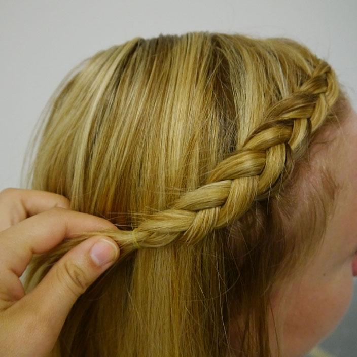 Einfache Frisuren 3 Flechtfrisur