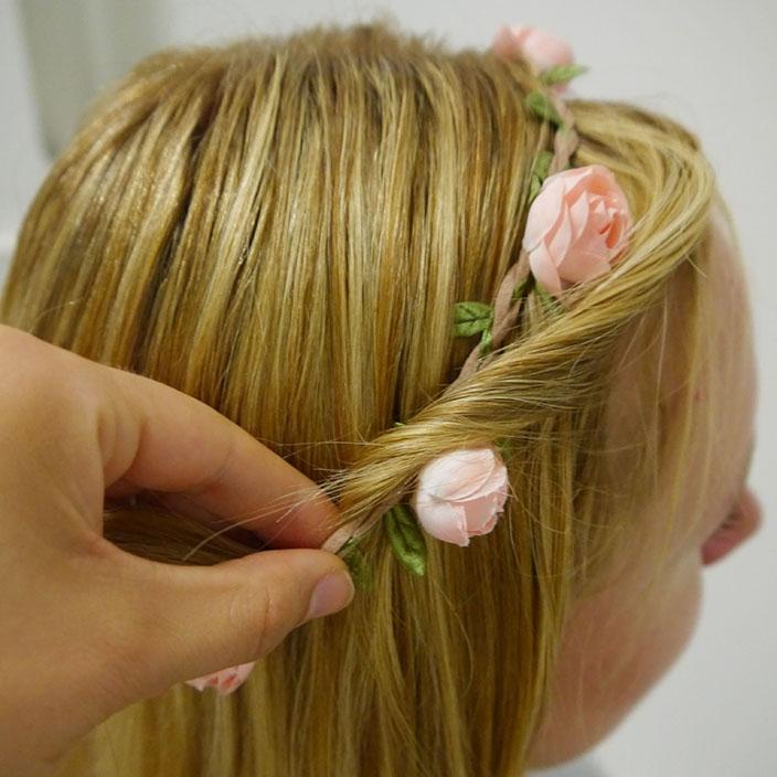 Einfache Frisuren 2 Hippie Frisur