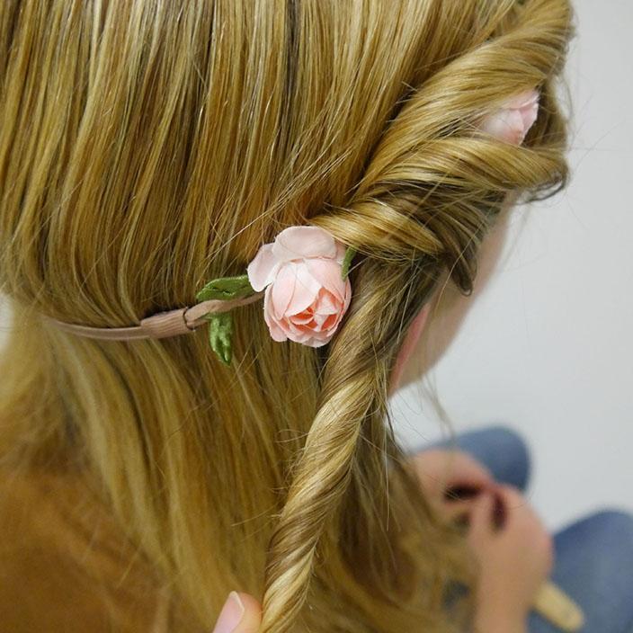 Einfache Frisuren 4 Hippie Frisur