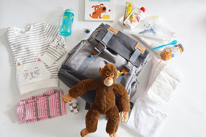 Wickeltasche packen, Wickeltasche, Wickeltasche für Kleinkind, Wickeltasche für Baby
