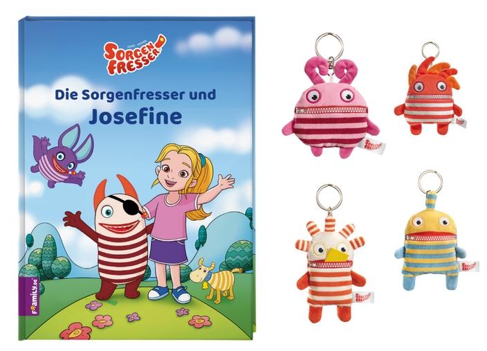 framily.de, ernsting's family, Kinderbuch personalisieren, Die Sorgenfresser und ich, Sorgenfresser