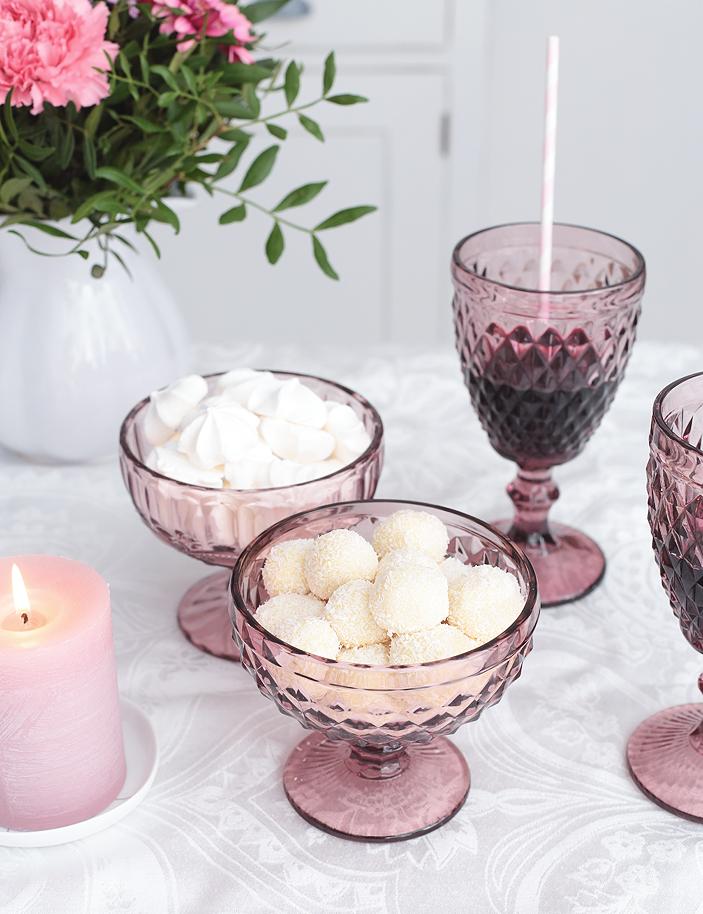 Trüffel-Pralinen selber machen, Pralinen Rezept, Pralinen weiße Schokolade