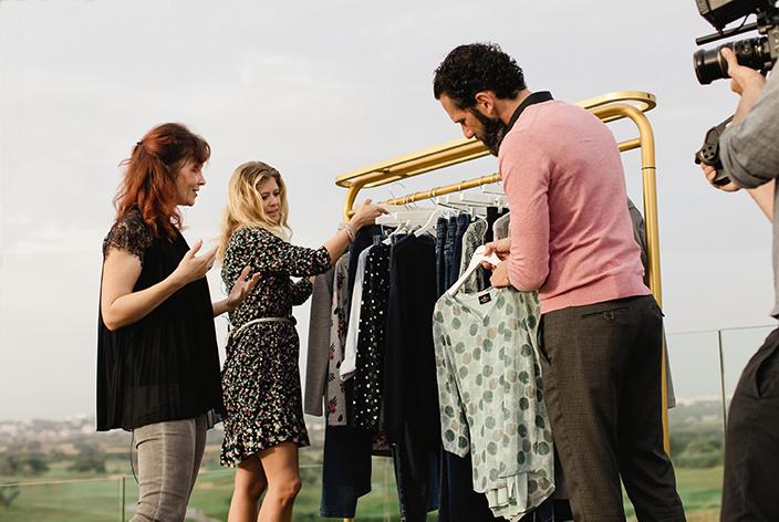 Umstyling mit Romy, Typveränderung, Umstyling, Mode-Tipps, Beauty, Vorher-Nachher, Styling-Tipps, Jeans-Look, Neuer Look