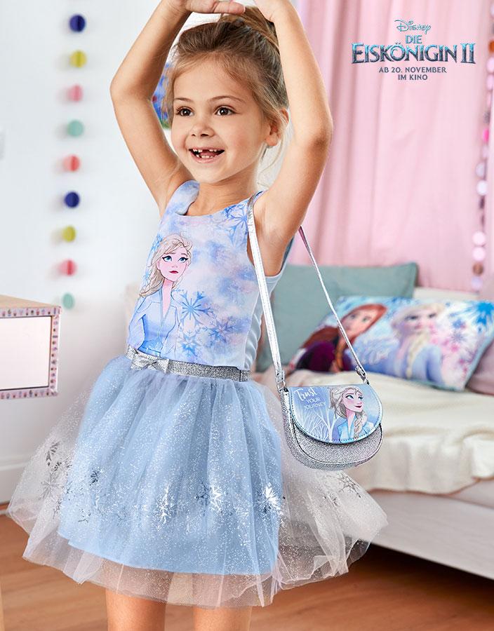 Bekleidung, Fankleidung, Eiskönigin 2, Filmstart, Disney, Kinderkleidung, Mädchen